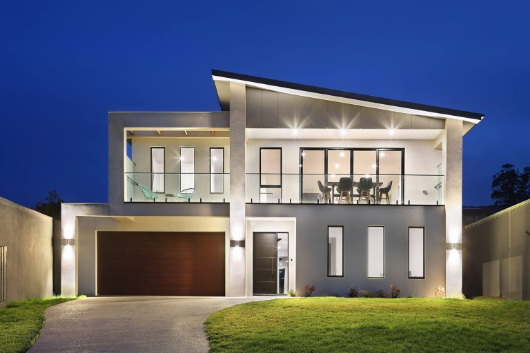 architectrual new home