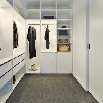 boutique walkin wardrobe