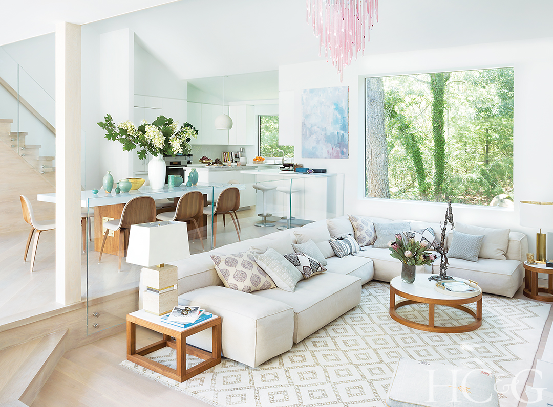 tips to a hampton style lounge