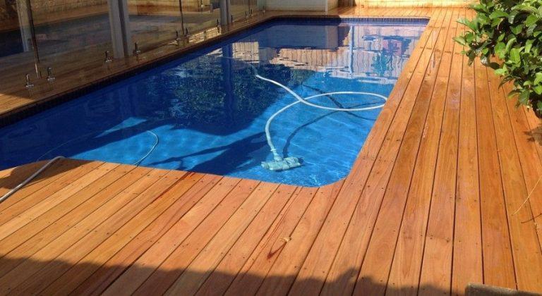 Blackbut timber decking