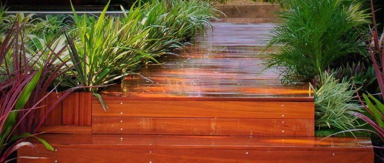 ironbark timber decking