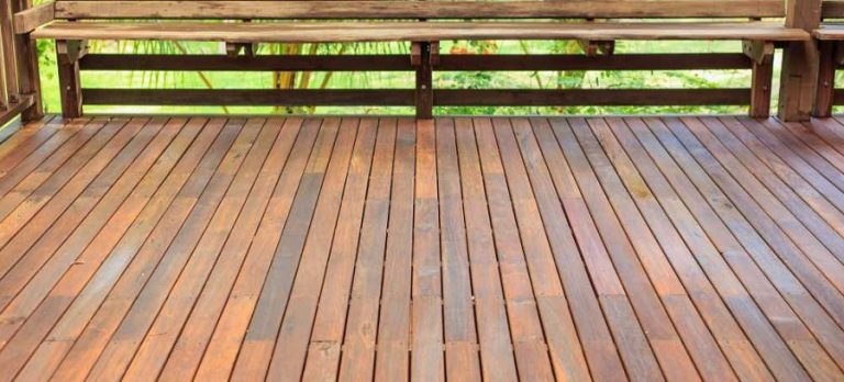 Treated Pine timber decking